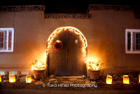 Adobe house Christmas